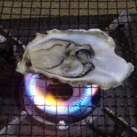 見よ、根性の焼き牡蠣。