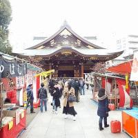 東京散歩:湯島天神梅まつり