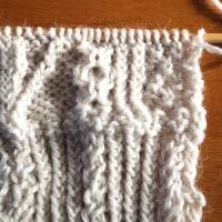 年末年始編み物