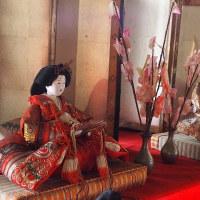 早春の古民家~雛飾り