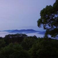 今朝(06/(06/26)の雲海
