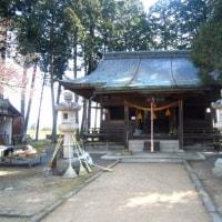 篠山・青山神社。