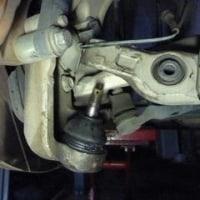 フェアレディーZ Z33 ナックルスビンドルブーツ交換