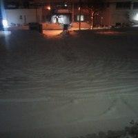 道路がツルツル、テカテカの上に、新雪がサラッ:(;゙゚'ω゚'): 転倒にご注意下さい!!(札幌)