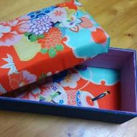 裁縫箱を作ってみました。