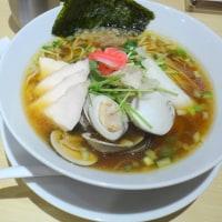 オサレな店内で「鶏・煮干し・蛤のトリプルSOBA」ランチ!@むぎとオリーブ日本橋店!