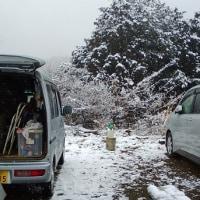 雪景色ドライブ