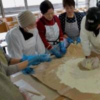 饅頭造り体験