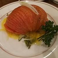 元気レストラン・トマトサラダ