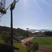 ソフトテニス県大会。
