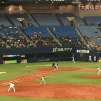 オリックス (オープン戦)金子千尋に援護なく阪神に完封負け (京セラドーム大阪)