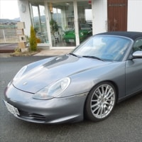 Boxster(GH-98623)の車検①-1
