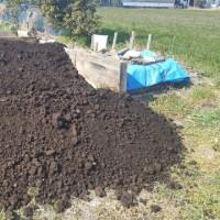 届きました、「牛糞堆肥」