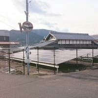 うーーん。わりと住宅密集地に、こんだけの太陽光発電設備が・・・・