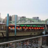 屋形船で隅田川遊覧(2)