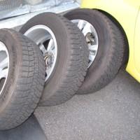 BMW X3の夏タイヤ交換。