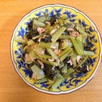 小松菜とツナの煮物