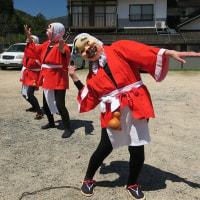 ひょっとこ踊り(小奴可 要害桜)  in 広島・庄原市