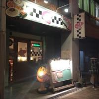 【大阪●京橋】「13Diner(サーティーンダイナー)」のオニオンリングバーガー