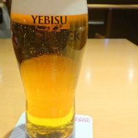 ヱビスマイスター&ハンバーグランチを頂く!@ヱビスバー上野の森さくらテラス店を再訪!