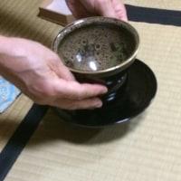 天目茶碗の扱い