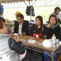 富士山に一番近い麓の文化祭 ミャンマーからお客様