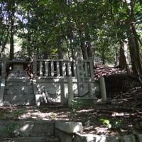 神社伏0080  大岩神社 多くの祠