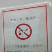 トイレの中で・・・