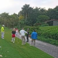 ゴルフ終了し、上海出張の時間が近づいて来ました。