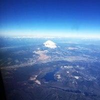 富士山上空7,000メートル