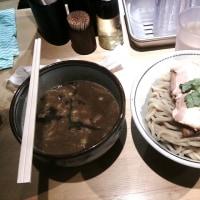 最近多いかな 濃厚煮干しつけ麺大 月と鼈 【18日】