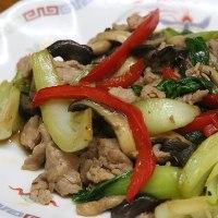レシピ 青梗菜と平茸のオイスターソース炒め