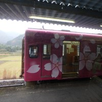 錦川鉄道の錦川清流線へ乗車