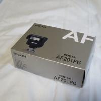 ストロボを買う PENTAX AF201FG