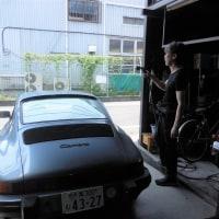 ポルシェ911 (930) 、車検が完了しました。