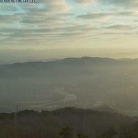 霞む程度の霧