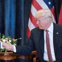 トランプ大統領、安倍首相と会談 北朝鮮問題は「解決されるだろう」