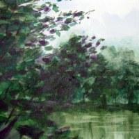 初めての水彩画