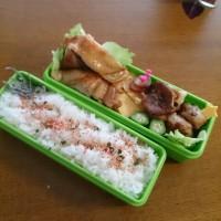 1/16チキンの酢醤油焼き弁当