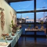 凸凹陶芸教室の作品展・・・明日が最終日