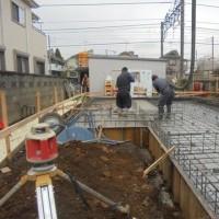 諏訪町 基礎工事