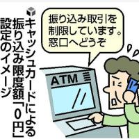 今日以降使えるダジャレ『2144』【社会】■ATM限度額「0円」に、県警が要請…詐欺防止