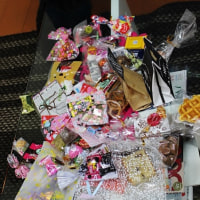 バレンタインのチョコとサクレ