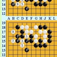 囲碁死活1021官子譜