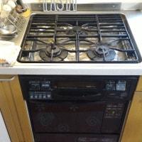 キッチンのレンジとオーブンを更新