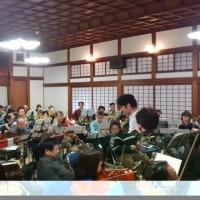 昨日のオーケストラ千里山の練習(2月26日)