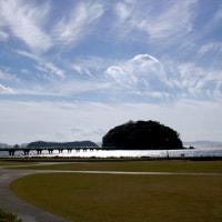 静かな秋の1日を竹島で