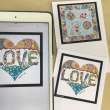 iPadでぬり絵作品2 グラデーション追加