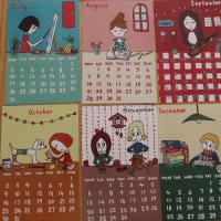 nui-nui 1st.のカレンダーが可愛過ぎる♪