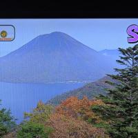 10/26 23日に見たお天気の紅葉 やっぱり富士は入れないと 雪はまだ